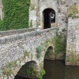 Moat at Chateau Pirou