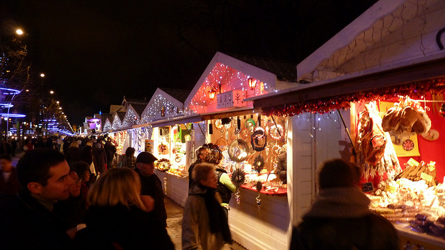 Christmas shopping breaks in normandy normandy farmhouses - Marche de noel mulhouse 2017 ...