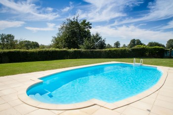 Superb The Private Heated Swimming Pool Is Open May U2013 October, And Thereu0027s A Huge  Normandy Fireplace For The Colder Months. This Property Is Wheelchair And  ...